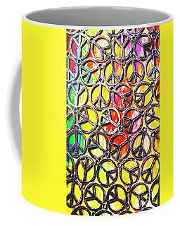 Peace In All Colours Coffee Mug