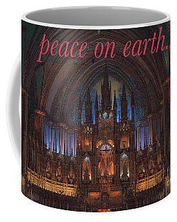 Peace Coffee Mug