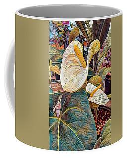 Peace Lily Coffee Mug