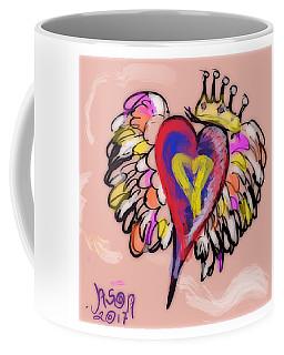 Peace. Love. Prayers. Coffee Mug by Jason Nicholas