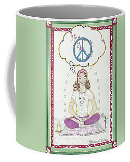 Peace Meditation Coffee Mug