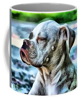 Coffee Mug featuring the digital art Peace Of Mind by Kathy Tarochione