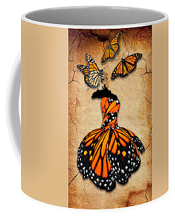 Coffee Mug featuring the mixed media Peace Of Mind by Marvin Blaine