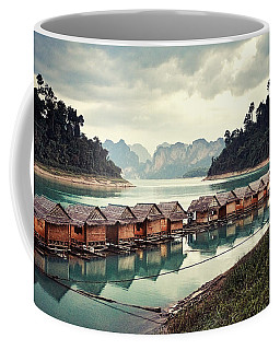 Peace On The Lake Coffee Mug