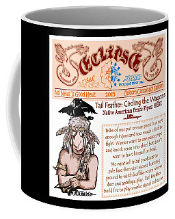 Real Fake News Circling The Wagons 2 Coffee Mug