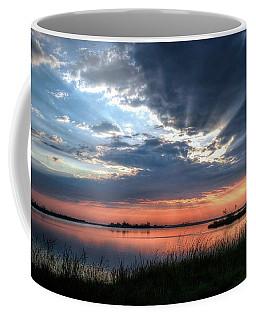 Peace Coffee Mug by Ronda Ryan