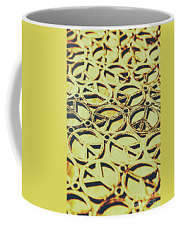 Peace Sign Patterns Coffee Mug