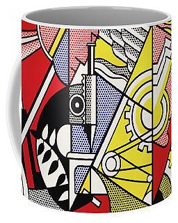 Peace Through Chemistry I - Roy Lichtenstein Coffee Mug