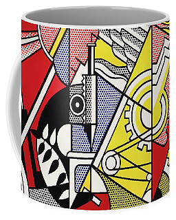 Peace Through Chemistry I Coffee Mug by Roy Lichtenstein