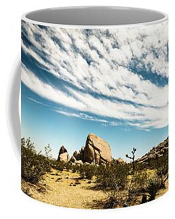 Peaceful Boulder Coffee Mug by Amyn Nasser