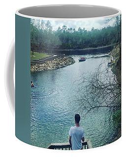 Looking Into The Future Coffee Mug