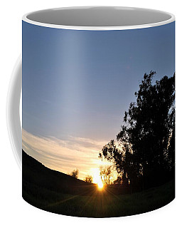 Coffee Mug featuring the photograph Peaceful Country Sunset  by Matt Harang