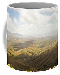 Peaceful Countryside Panorama Coffee Mug