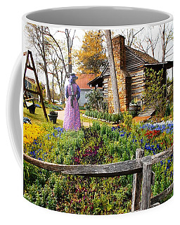 Peaceful Garden Walk Coffee Mug