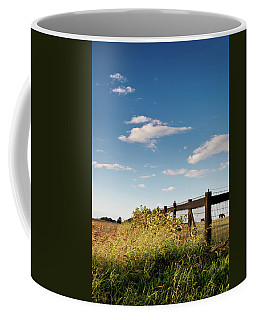 Coffee Mug featuring the photograph Peaceful Grazing by David Sutton
