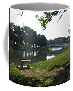 Coffee Mug featuring the photograph Peaceful by Greg Patzer