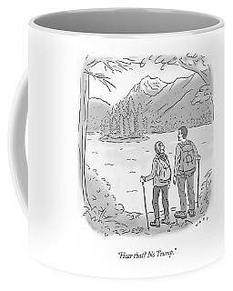 Peaceful Hikers Coffee Mug
