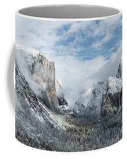 Coffee Mug featuring the photograph Peaceful Moments - Yosemite Valley by Sandra Bronstein