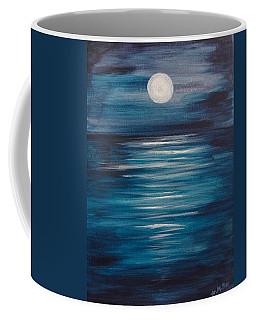 Peaceful Moon At Sea Coffee Mug