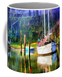 Coffee Mug featuring the photograph Peaceful Morning In The Cove by Brian Wallace