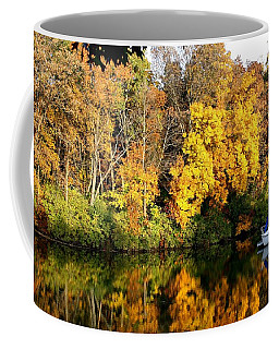 Coffee Mug featuring the photograph Peaceful Reflections by Bruce Bley