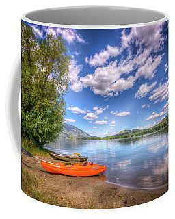 Coffee Mug featuring the photograph Peaceful Skies by Spencer McDonald