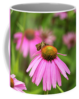 Peaceful Skipper Butterfly Coffee Mug