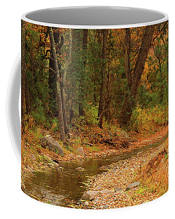 Coffee Mug featuring the photograph Peaceful Stream by Roena King