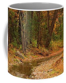 Peaceful Stream Coffee Mug by Roena King