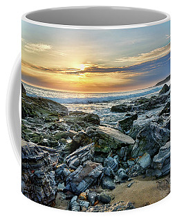 Peaceful Sunset At Crystal Cove Coffee Mug