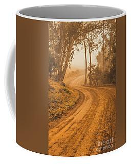 Peaceful Tasmania Country Road Coffee Mug
