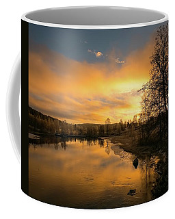 Peaceful Thoughts Coffee Mug by Rose-Marie Karlsen