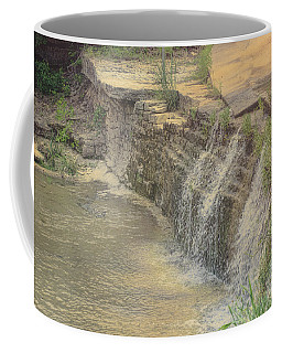 Coffee Mug featuring the photograph Peaceful Waterfalls by Luther Fine Art