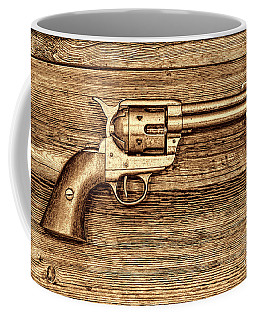 Peacemaker Coffee Mug by American West Legend By Olivier Le Queinec
