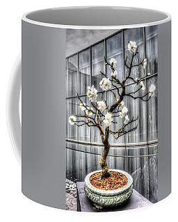 Peach Bonsai Tree Coffee Mug
