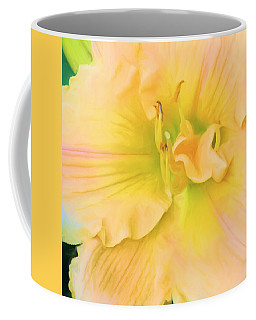 Peach Lily Coffee Mug