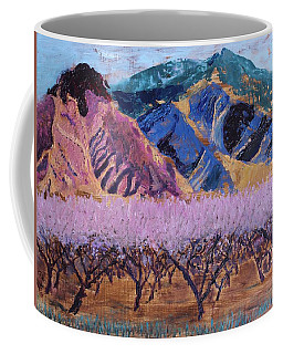 Peach Orchard Canigou Coffee Mug