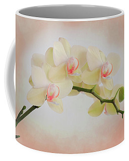 Peach Orchid Spray Coffee Mug
