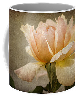 Peach Rose Coffee Mug by Tamara Becker