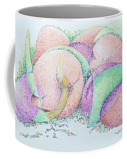 Peaches And Plums Coffee Mug