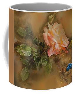 Peachy Blue Coffee Mug