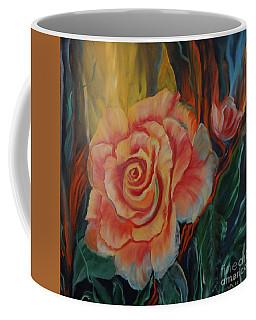 Peachy Rose Coffee Mug