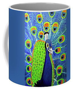 Peacock #3 Coffee Mug