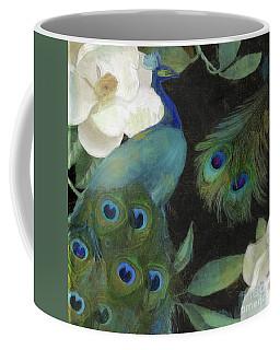 Peacock And Magnolia II Coffee Mug