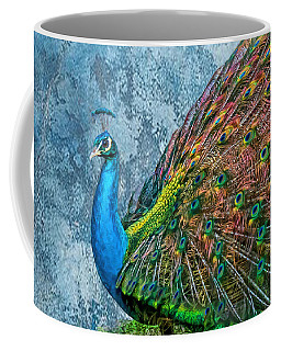 Peacock Art Coffee Mug