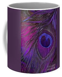 Peacock Candy Purple  Coffee Mug