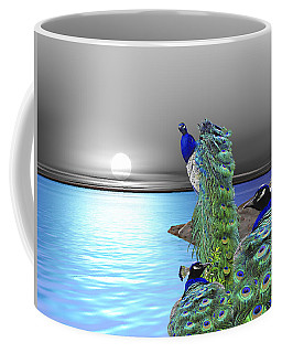 Peacock Fantasy Coffee Mug