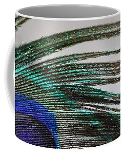 Peacock Feather Art Coffee Mug