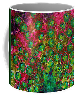 Peacock Impressions Coffee Mug