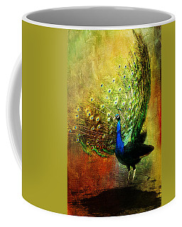 Peacock In Full Color Coffee Mug
